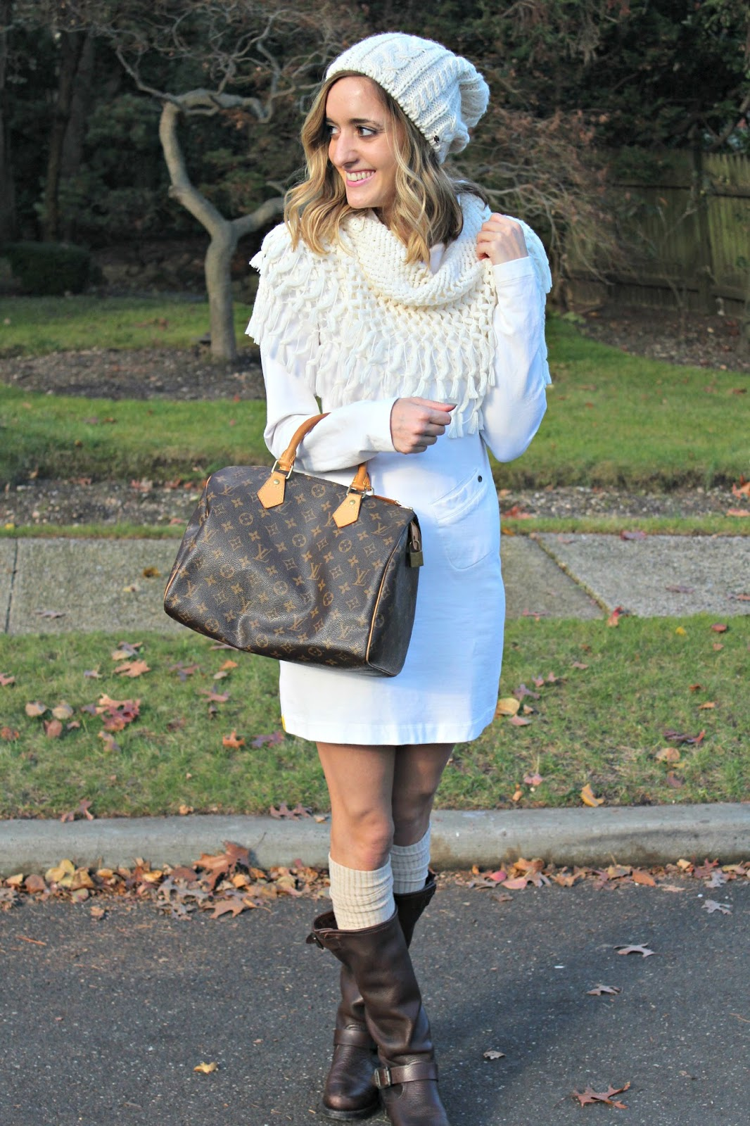 winter white outift