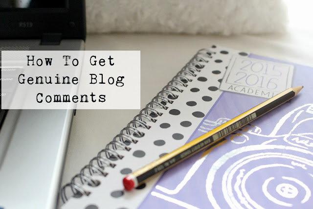 Bloggers comments advice tips