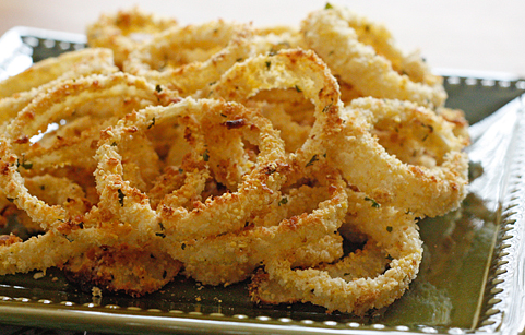 Healthy Onion Rings Recipe