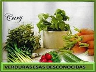 Verduras esas desconocidas