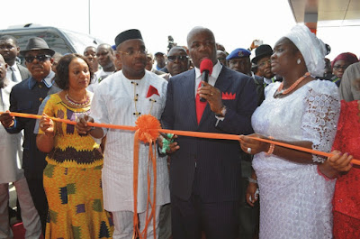 Godswill Akpabio commissioning world class hospital in uyo