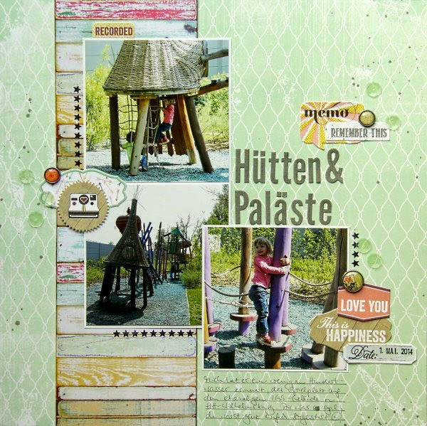 Scrapbooking Sketch Layout