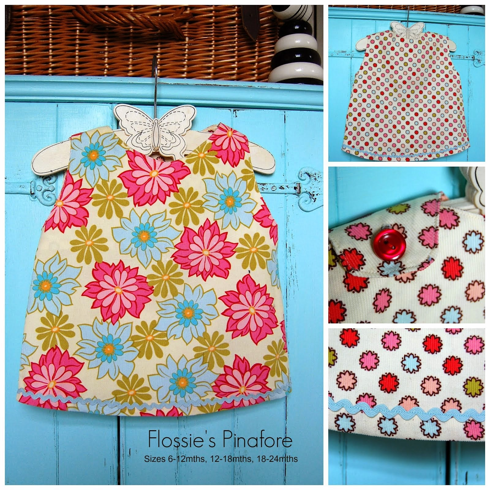 Flossie's Pinafore Pattern