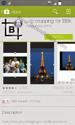 Cara Ganti DP BBM Untuk Android Tanpa Crop - Tabloid Hape 2016