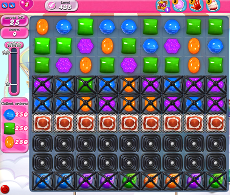 Candy Crush Saga 435