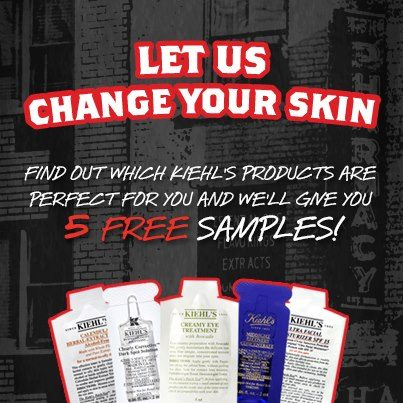 Kiehl's: Free 5 Samples Giveaway with Try Before You Buy Campaign ...