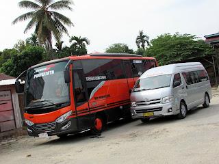 Sewa dan Rental Bus Pariwisata Pekanbaru Riau