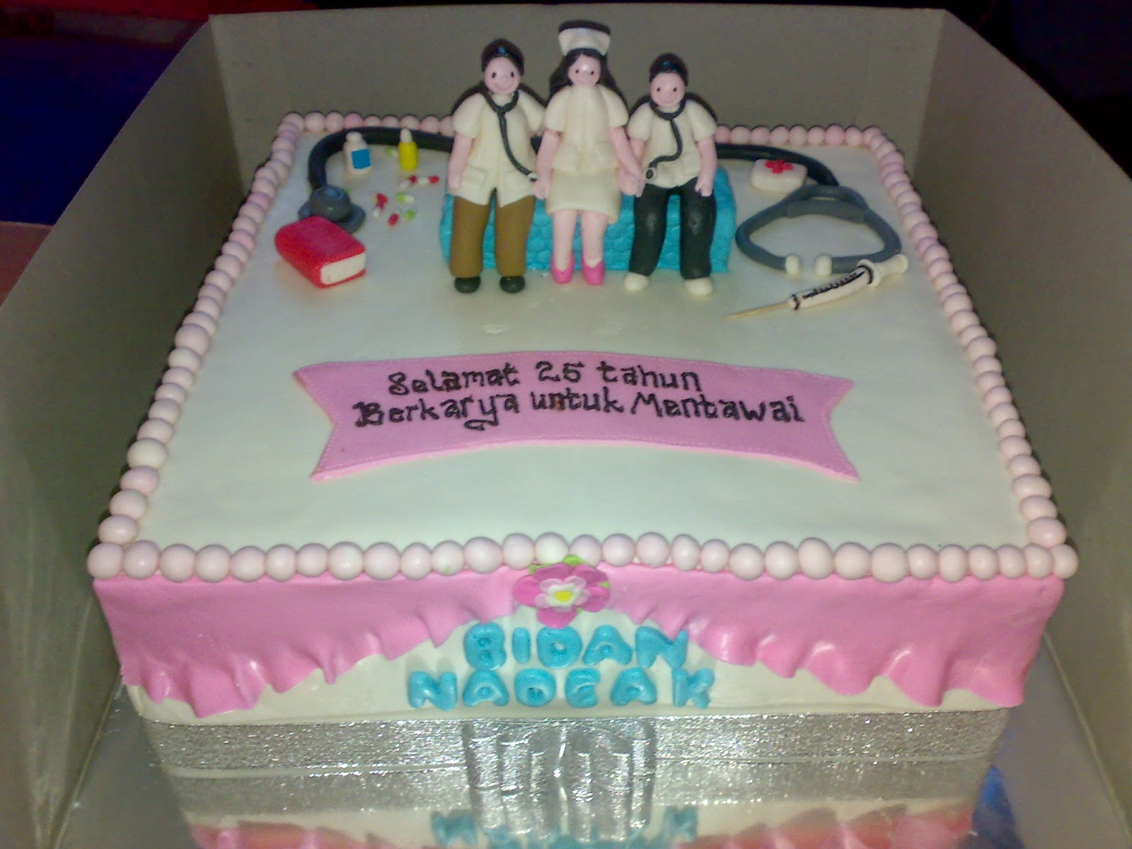 tempat pesan kue dengan tema dokter medis