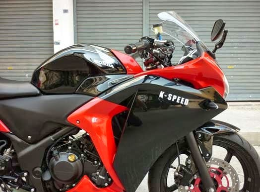MODIFIKASI HONDA CBR250R