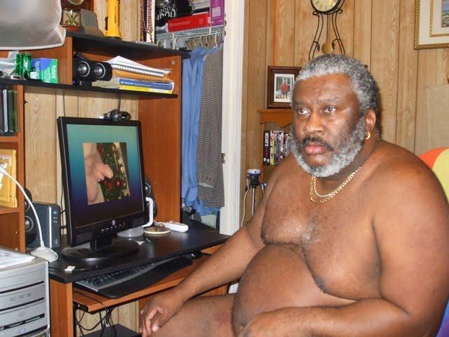 Black older men naked