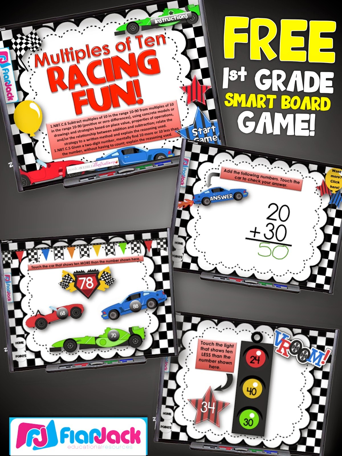 https://www.teacherspayteachers.com/Product/Ten-More-Or-Less-Racing-Smart-Board-Game-FREEBIE-1780792