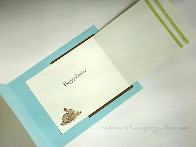 Rubber Stamping Children's Easter Cards