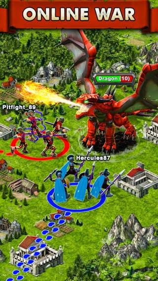 تحميل لعبة Game of War - Fire Age الاستراتيجية المميزة للأندرويد والايفون مجاناً APK-iOS 2.6.277