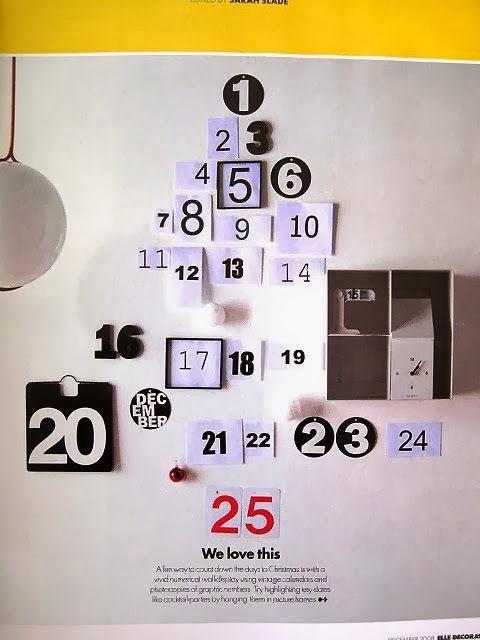 Réaliser un calendrier de l'Avent original