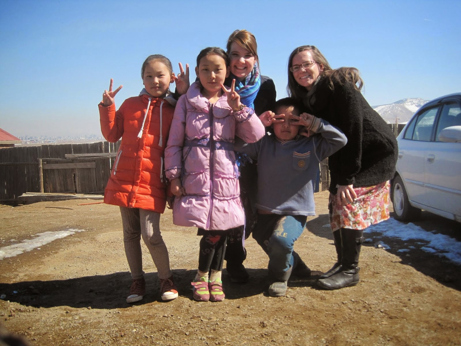 I Love the Mongolian Children
