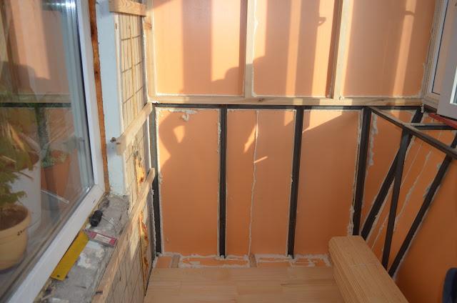 Утепление парапета балкона изнутри своими руками 37