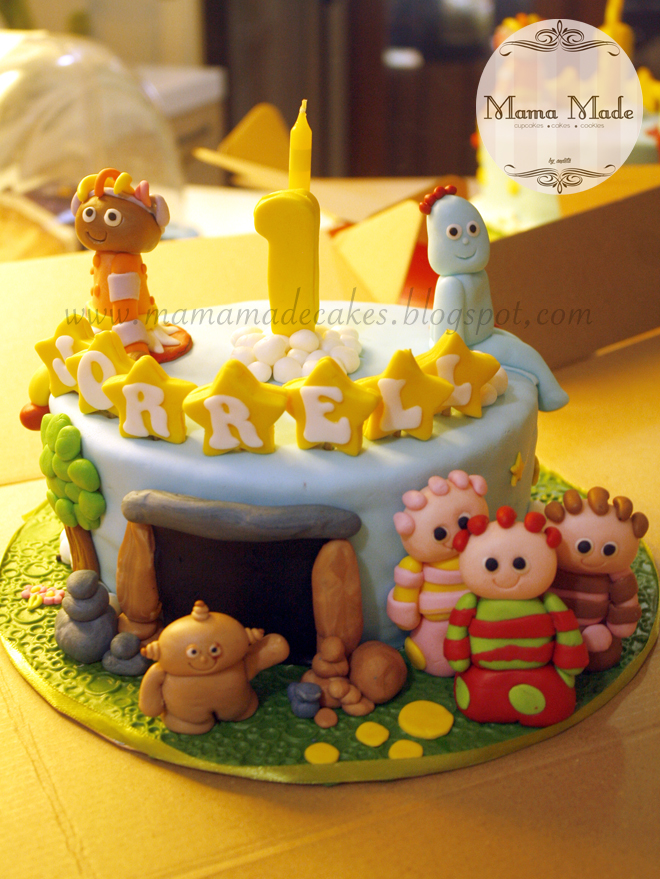 In The Night Garden Cake Mama Made Cakes