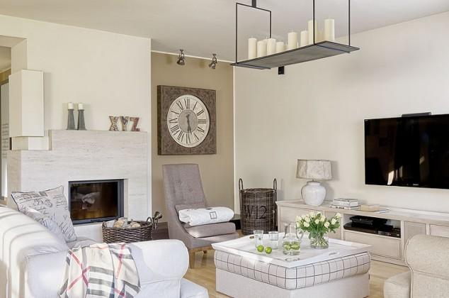 Decor me estilo rom ntico en una vivienda americana junto - Casas estilo romantico ...
