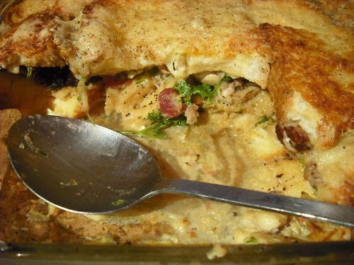 Foodycat: Full English bread pudding