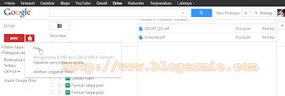 Google drive untuk membaca file PDF