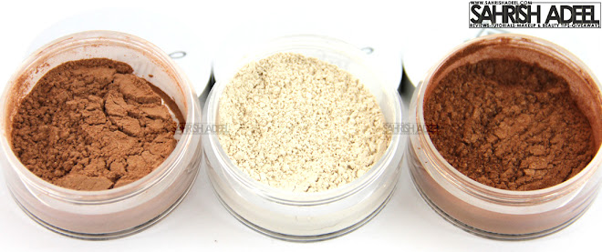 Sparkling Face Shimmers by Luscious Cosmetics - Review & Swatches