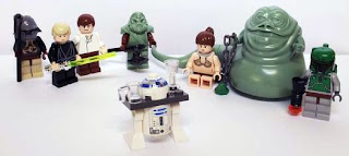 Lego Star Wars 6210 Jabbas Sail Barge rare minifigures collectibles