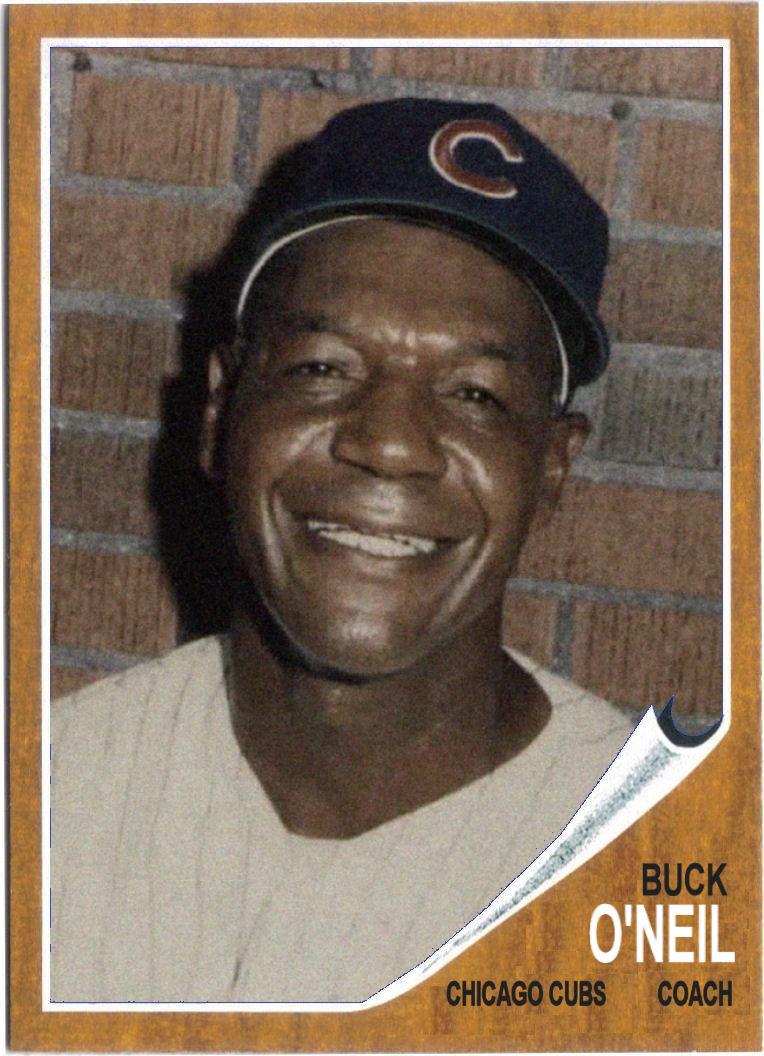 1962 Topps Buck ONeil