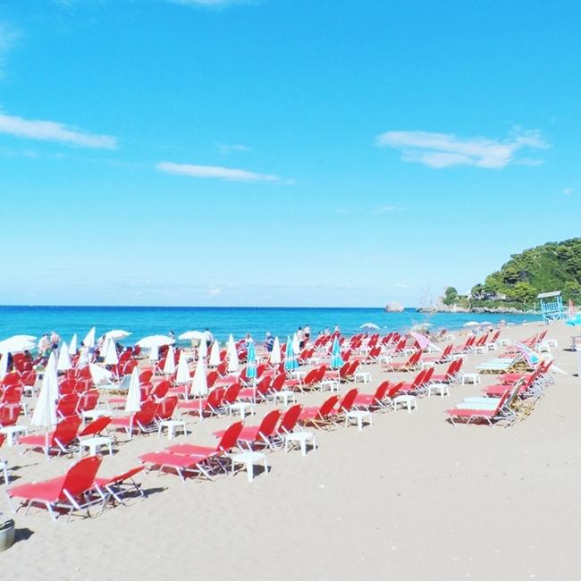 Jelena Zivanovic Instagram @lelazivanovic.Glam fab week.Glyfada beach,Corfu.Glifada plaza,Krf.
