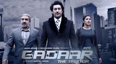 Gadaar The Traitor 2015 Punjabi 720p DVDRip 900mb ESub punjabi movie the gadaar the traitor dvd rip 720p free download or watch online at world4ufree.cc