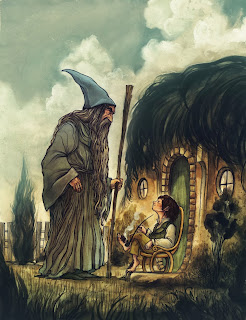 hobbit-art-gandalf-and-bilbo-meet
