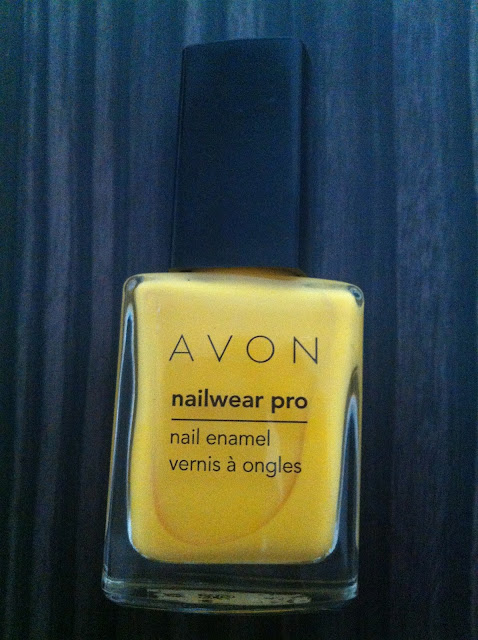 Avon Nailwear pro Sunshine
