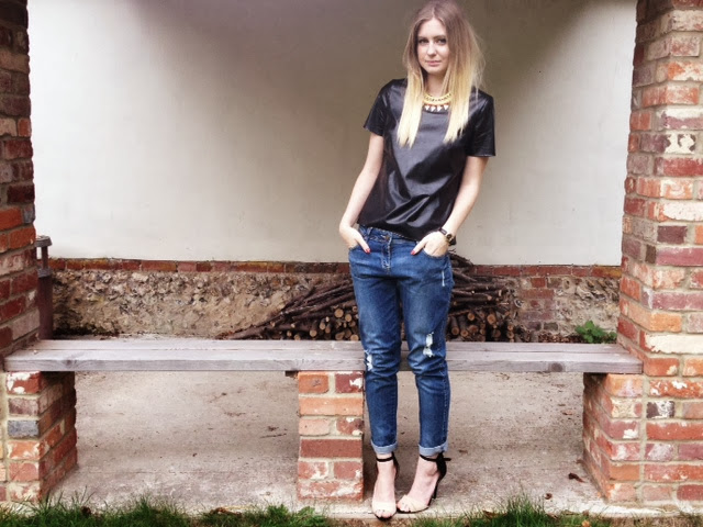 FashionFake, F&F, Florence & Fred, F&F Tesco, Clothing at Tesco, AW13 fashion, denima fashion, boyfriend jeans