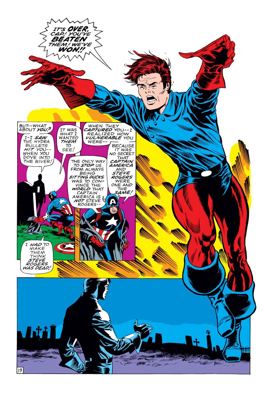 Captain America (1968) Issue #113 #27 - English 20