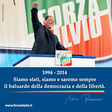 Manifesto Berlusconi