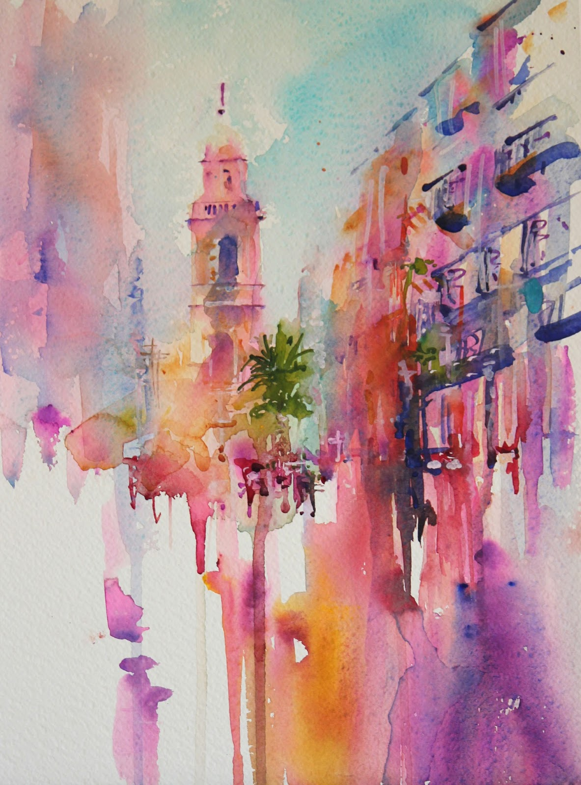 Watercolours with life world of watercolour exhibition for Watercolor painting images
