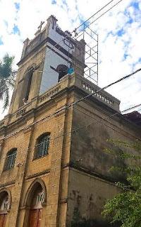 Prédio da igreja matriz Nossa Senhora do Carmo. Foto: Aparecido Rojo