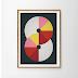 abstract, abstract art, abstract print, angela ferrara, art print, concrete art, etsy, geometric art, geometric print, mid century modern, posters,