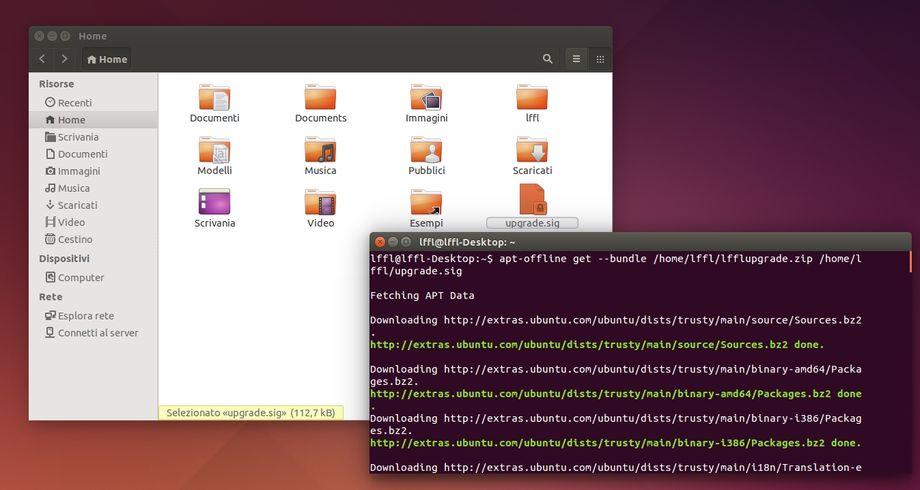 apt-offline in Ubuntu