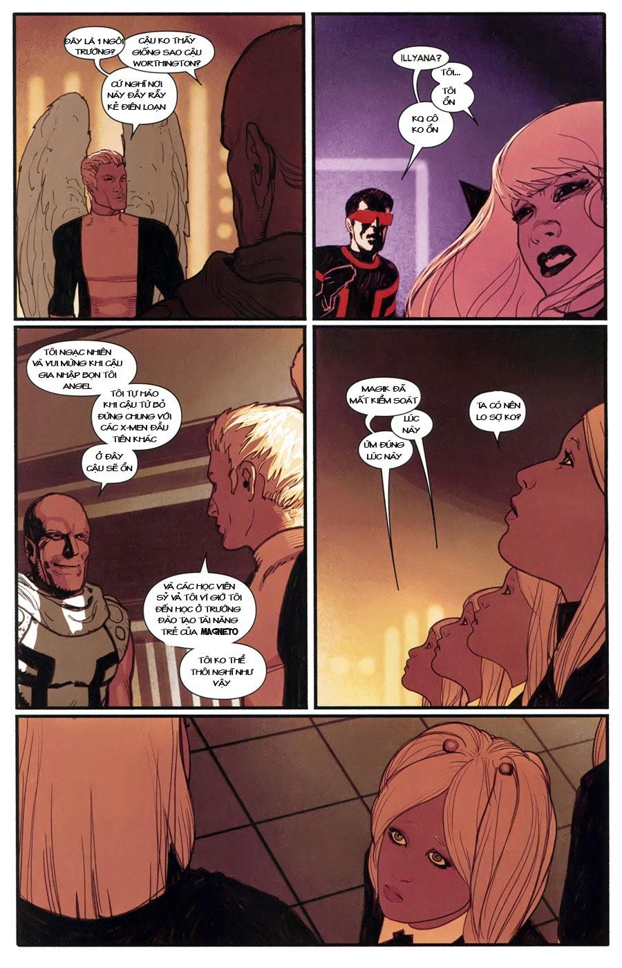 Uncanny X-Men chap 5 - Trang 16