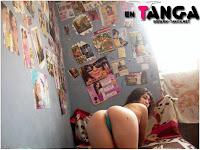Chilena rica en tanga