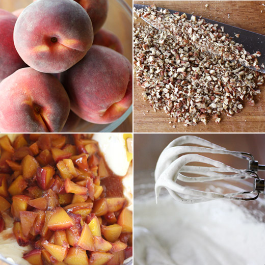Bourbon-Roasted Peach Cheesecake Recipes — Dishmaps