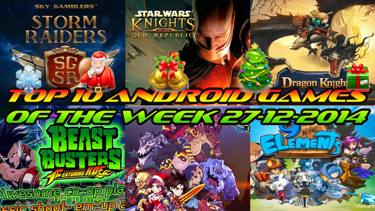 TOP 10 BEST NEW ANDROID GAMES OF THE WEEK - 27th December 2014