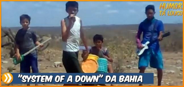 Banda System of a Down da Bahia