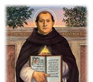 St Thomas Aquinas, Pray for us!
