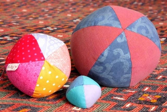 Lulina: Stoffball-Schnittmuster selber machen