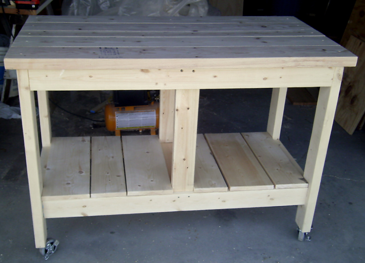 i made myself a rolling workbench for the shop iu0027ve only needed it for about five years - Rolling Workbench