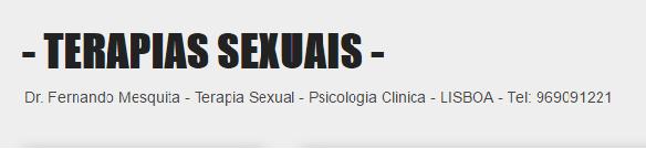 PARCEIRO: Terapias Sexuais