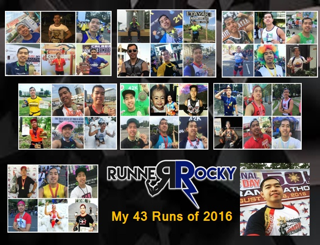 The Runs of Runner Rocky in 2016