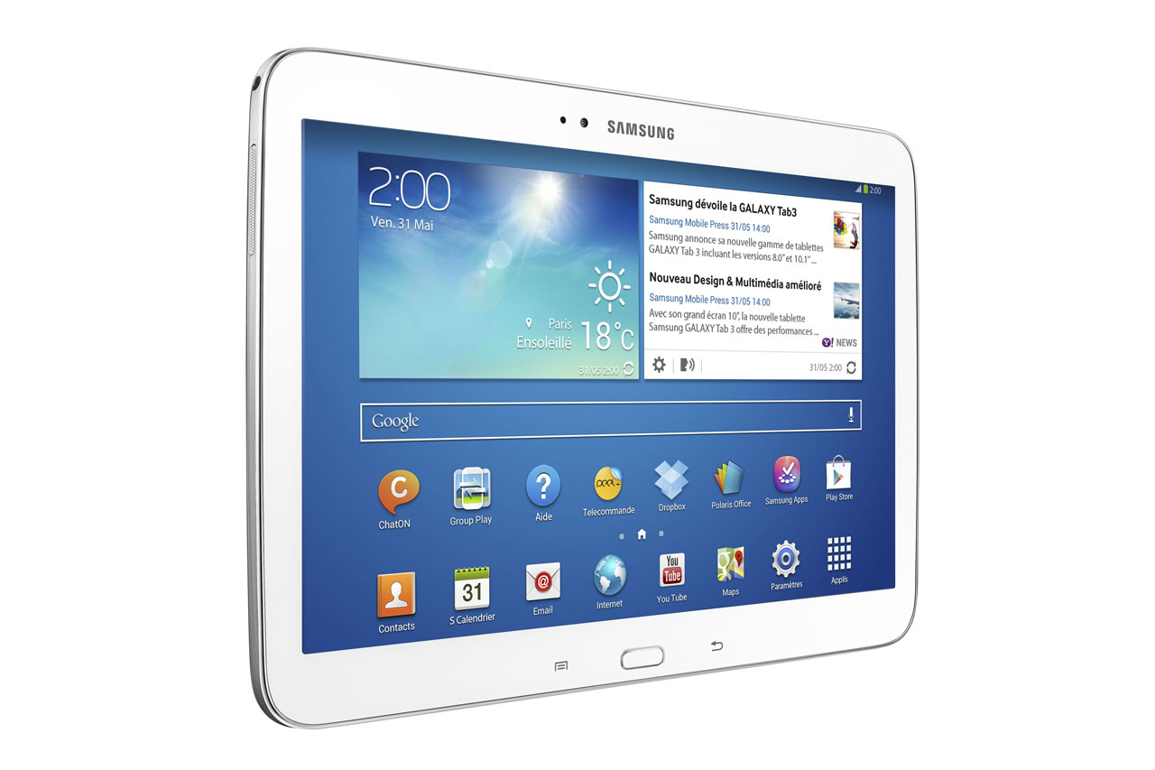 "The new Samsung Galaxy Tab 3 10.1 inch is equipped with 3G and 4G/LTE Intel solutions, but also an Intel Atom ""Clover Trail"" Z2560 processor"