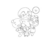 #11 Animal Crossing Coloring Page